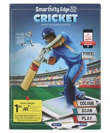 Smartivity Edge Swach Bharat Cricket Colouring Sheets