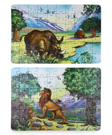 Smartivity Edge Majestic Beasts Magic Jigsaw Puzzle - 60 Pieces