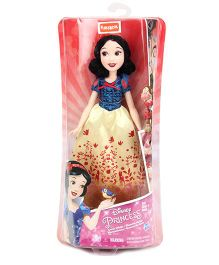 Disney Funskool Snow White Doll - Blue and Yellow