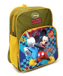 Disney Mickey And Friends Kids Bags Green - 14 inches