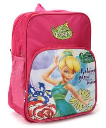 Disney Fairies Kids School Bag Pink - 14 Inches