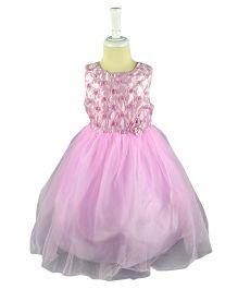 Cherubbaby Tutu Dress With Roses - Pink