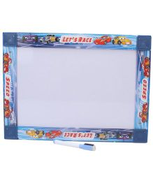 Prasima Toys Writing Board - White Blue