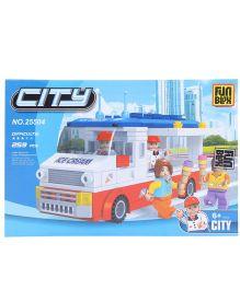 Fun Blox City Blocks Multicolor - 274 Pieces