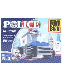 Fun Blox Mini Police Blocks Set -  33 Pices