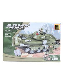 Fun Blox Army Tank Blocks Set Multicolor - 213 Pieces