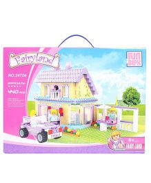 Fun Blox Fairyland Sweet Home Block Set Multicolor- 440 Pieces