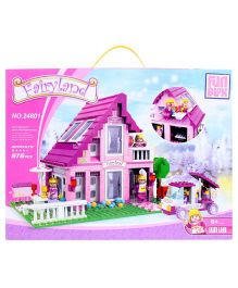 Fun Blox Fairyland Block Set Multicolor- 576 Pieces