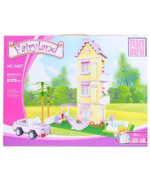Fun Blox Fairyland Block Puzzle Set Multicolor - 625 Pieces
