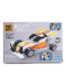 Fun Blox 3 in 1 Assembly Master 25421 - 146 Pieces
