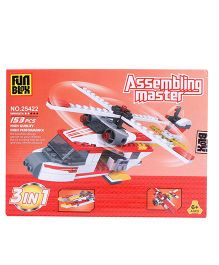 Fun Blox Assembling Master 3 in 1 Block Set Multicolor - 153 Pieces