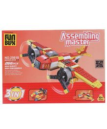 Fun Blox 3 in 1 Assembly Master 25618 - 266 Pieces