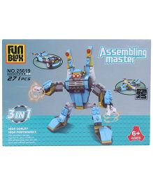 Fun Blox 3 in 1 Assembly Master 25619 - 271 Pieces
