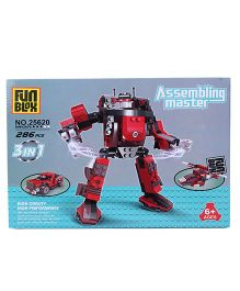 Fun Blox 3 in 1 Assembly Master 25620 - 286 Pieces