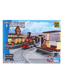 Fun Blox Train Block Set - 462 Pieces