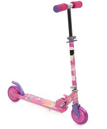 Barbie 2 Wheel Scooter - Pink