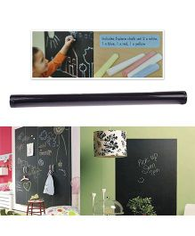 iCuddle Self Adhesive Blackboard Wall Sticker - Black