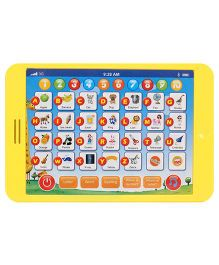 Smart Picks Touch Screen Educational Tab - Yellow