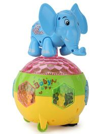 Smart Picks Battery Operated Elephant - Multicolor