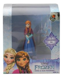 Disney Frozen Anna Figurine Single Pack - Blue