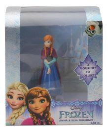 Disney Frozen Anna Figurine Single Pack- Blue
