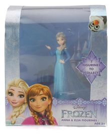 Disney Frozen Elsa Figurine Single Pack - Blue