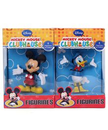 Disney Mickey Mouse and Donald Duck Figurine 2 in 1 Pack - 9 cm