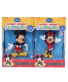 Disney Mickey and Minnie Mouse Figurine 2 in 1 Pack - 9 cm
