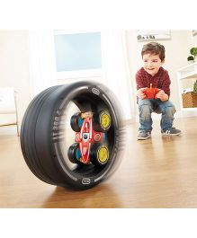 Little Tikes Tire Racer Remote Control Race Car - Black & Red