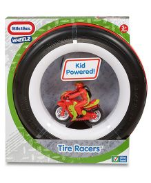 Little Tikes Tire Racers Motorcycle - Red And Black