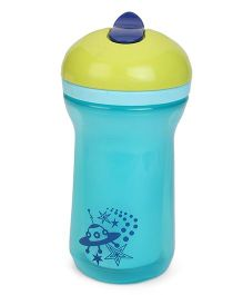 Tommee Tippee Explora Insulated Active Straw Cup Star Print - Sea Green