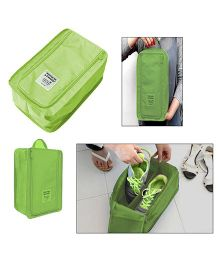 Home Union Waterproof Travel Shoe Bag - Green