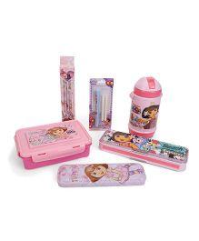 Dora School Kit Light Pink - Pack Of 6