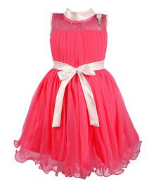 BunChi Daisy Party Dress - Pink