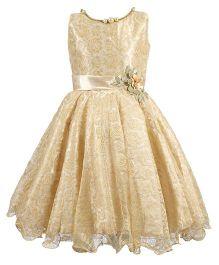 BunChi Princess Party Dress - Beige