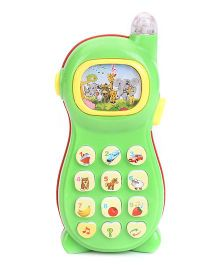 Smiles Creation Musical Phone Toy - Green And Red