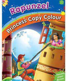 Rapunzel Copy Color Book - English