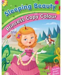 Sleeping Beauty Copy Color Book - English