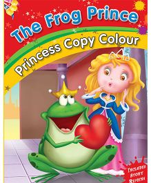 The Frog Prince Copy Color Book - English