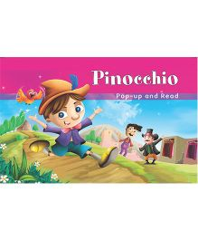 Pinocchio Pop-Up Book - English