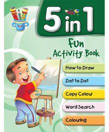 5 in 1 Fun Activity Books