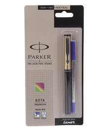 Parker Beta Premium Gold Roller Ball Pen
