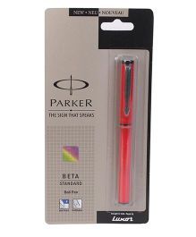 Parker Beta Standard Ball Pen - Red