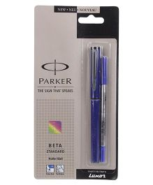 Parker Beta Standard Roller Ball Pen - Blue