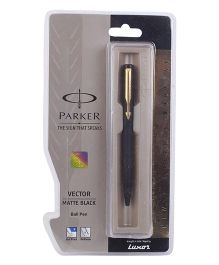 Parker Vector Matte Black GT Ball Pen