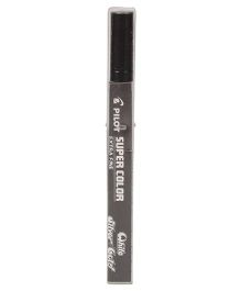 Pilot Super Color Extra Fine Permanent Marker Silver - Length 14 cm