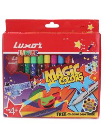 Luxor Junior Magic Color Pen Set of 10 - Length 13 cm
