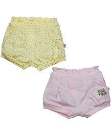 FS Mini Klub Shorts Pack of 2 - Yellow Pink