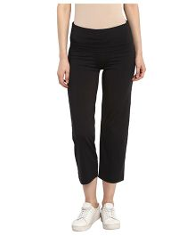 Mamacouture Maternity Track Pants - Black