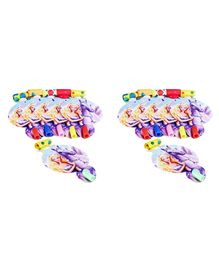 Funcart Riding Princess Theme Blowouts Purple - 6 Pieces